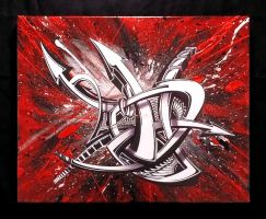 Acrylic Invasion by PinstripeChris