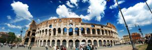 Colosseo - Panorama by ravi155