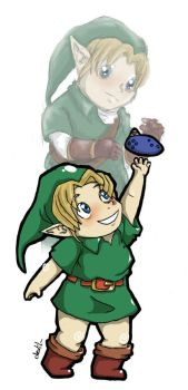 Chibi Link OoT by Mother-nono