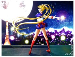 Pretty Guardian Sailor Moon by Zendaru