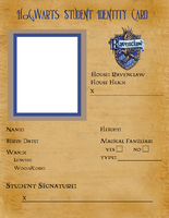 Ravenclaw ID Template by latuacantante98