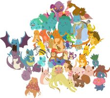 W.I.P Every Pokemon...EVER by tiggemybob