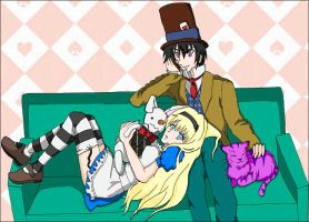 Alice in Wonderland by Rael-chan89