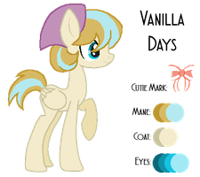 MLP:Vanilla Days Profile by kiananuva12