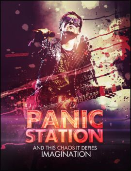 Muse - Panic Station Poster by FBM721