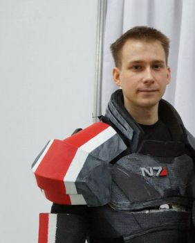 My First Cosplay   Commander Shepard By Atlantanor by atlantanor