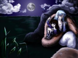 The Moon Flower. by VeraH by Sesshoumaru-and-Rin