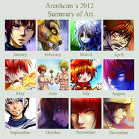 2012 Art Summary by Arenheim