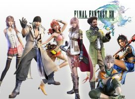 Final Fantasy XIII Cast by PacDuck