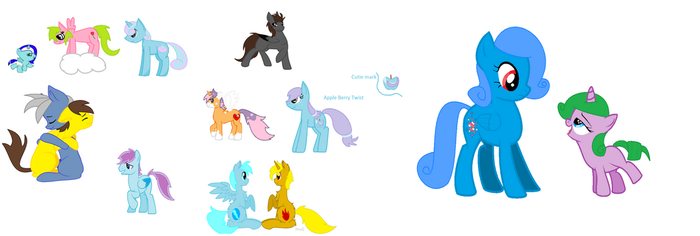 Old OC's Adopt!  *5 points each* by Kittehsmoshfan