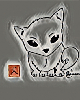 Anime Dog by ChRiSsArTgAlLeRy