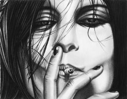 Alison Mosshart-Smokin's Cool by JJRRS