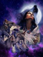 Spirit of the Wolf by JoyfulArtist21