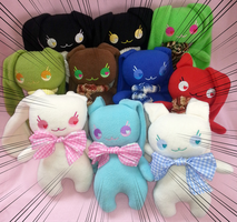 Bunny Group Plush by Lemonpez