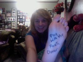 Fansign for The-Irish-Clover by Blink-719