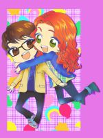 TMI: Clary and Simon by tabeck