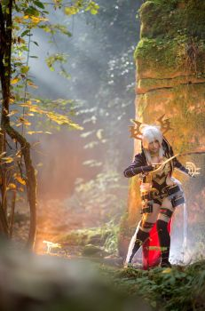 Arch Blood Mage - Rage of Bahamut Cosplay III by ArashiHeartgramm