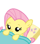 Baby Fluttershy Vector by jrk08004
