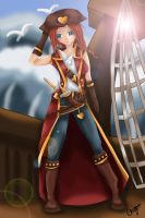 Female Gangplank - LoL by amber-enigma