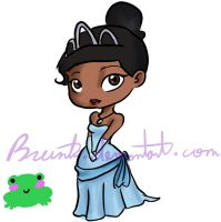 Princess Tiana by Brunita