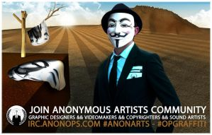 Anonymous Artists Community Anonarts OpGraffiti by OpGraffiti