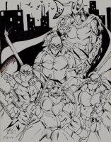 NINJA TURTLES by Mjones456