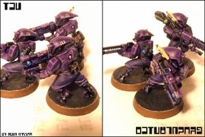 Tau Pathfinders by Panzerpenguin