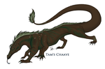 Chaave the Drazard by TamHorse
