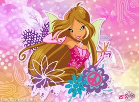 Flora Charmix wallpapers by MishAir