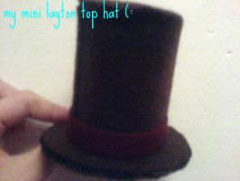 my mini layton top hat by olivia-the-fox