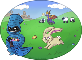 Happy Easter by TheLeatherDragonI