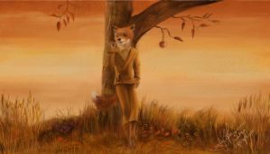 Fantastic Mr Fox by TamiTw