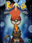 Kevin and Buizel by SukottoDeragon- Review Cover by Matthais123