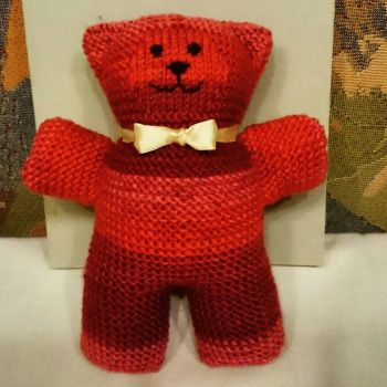 Knitted bear by anne-summer