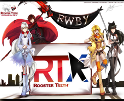 RWBY-RTX premiere by dishwasher1910