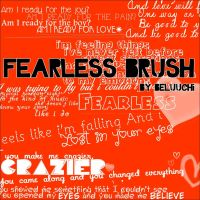 Fearless brush by beluuchi