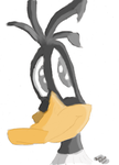 Daffy the Adorable Duck! (First Version) by EddyWriter