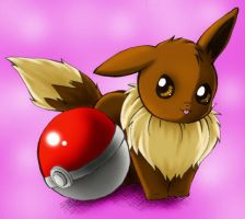 Eevee by drawfox5