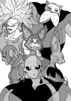 Dragon Ball Super - Universe Survival Saga 3 by Cheetah-King