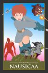 Nausicaa vector poster by flash-and-blood