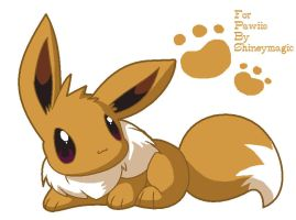 Eevee for Pawiis by Shineymagic