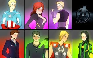 The Avengers by biene04