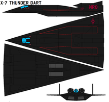 X-7 Thunder Dart by bagera3005