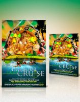 harbour cruise flyer by arTG