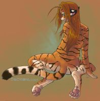 Tigress__Innocence by konekonoarashi