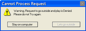 Cannot Process Request by Lets-Uninstall-Mich