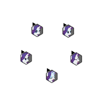 Rarity Fighting is Magic Cursor Set by Loaded--Dice