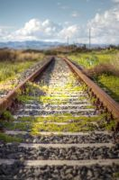 The tracks :) by 7whitefire7