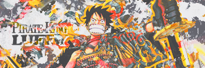 Pirate King Luffy sig by TheAceOverlord