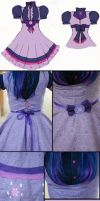 Twilight Sparkle Lolita Inspired Close Up by Antiquity-Dreams